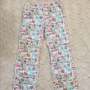 PINK Victoria's Secret L Flannel Lounge Pants